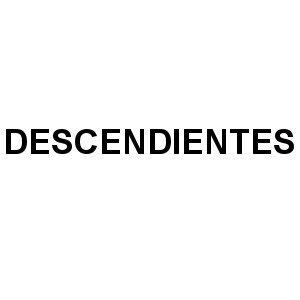 Descendientes