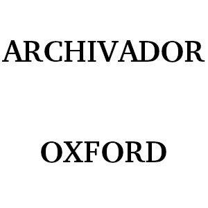 Archivador Oxford