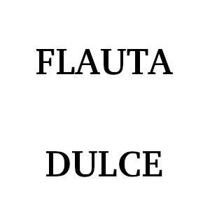 Flauta Dulce Escolar